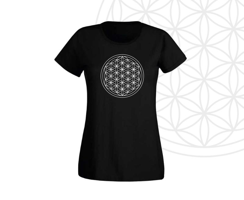 Dámské tričko s květem života